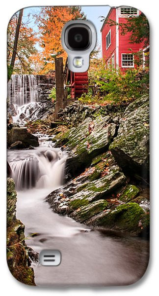Old Mills Galaxy S4 Cases - Grist Mill-Bridgewater Connecticut Galaxy S4 Case by Thomas Schoeller