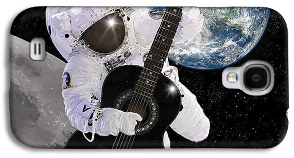Major Galaxy S4 Cases - Ground Control to Major Tom Galaxy S4 Case by Nikki Marie Smith