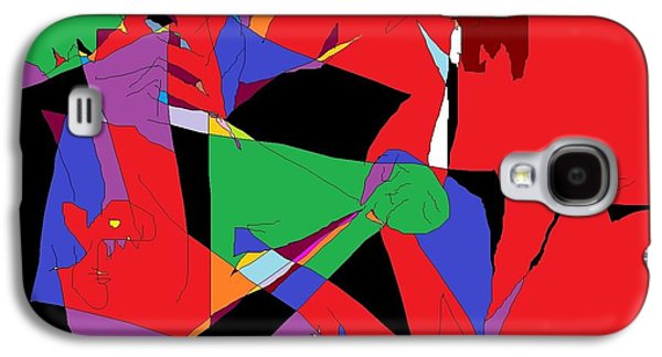 Abstracts Sculptures Galaxy S4 Cases - Group Therapy Galaxy S4 Case by Willie Anicic