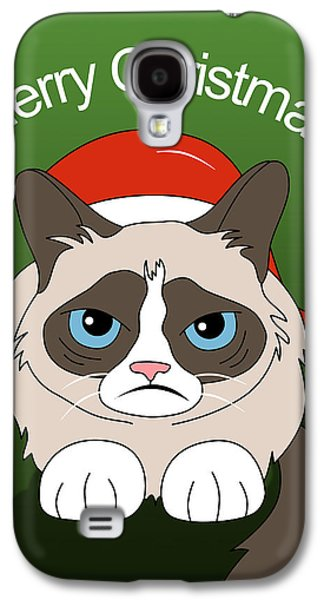 Animation Galaxy S4 Cases - Grumpy Cat Galaxy S4 Case by Mark Ashkenazi