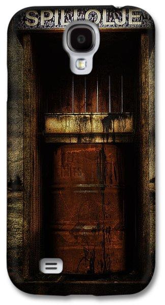 Waste Galaxy S4 Cases - Grunge Art Part IV - Waste Oil Galaxy S4 Case by Erik Brede