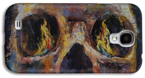 Ancient Paintings Galaxy S4 Cases - Guardian Galaxy S4 Case by Michael Creese