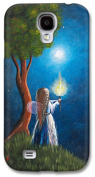 Midsummer Galaxy S4 Cases - Guardian Of Light by Shawna Erback Galaxy S4 Case by Shawna Erback