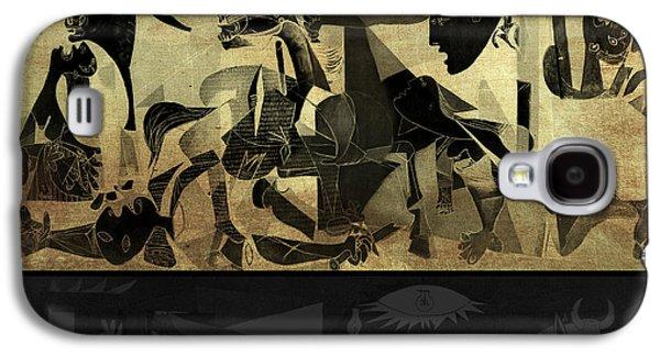Pablo Galaxy S4 Cases - Guernica 14 Galaxy S4 Case by Filippo B