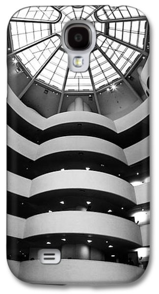 Symmetrical Galaxy S4 Cases - Guggenheim Museum Ground Floor Galaxy S4 Case by Az Jackson