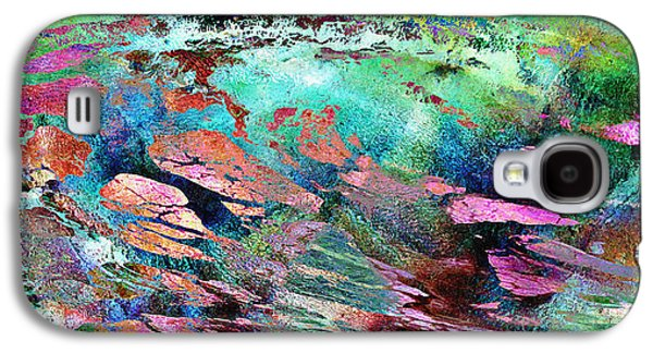 Abstract Digital Digital Galaxy S4 Cases - Guided By Intuition - Abstract Art Galaxy S4 Case by Jaison Cianelli