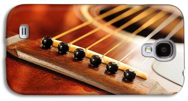 Guitar Bridge Galaxy S4 Case by Elena Elisseeva