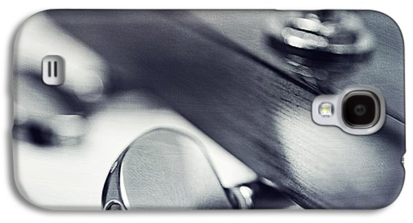 Mechanic Galaxy S4 Cases - guitar I Galaxy S4 Case by Priska Wettstein