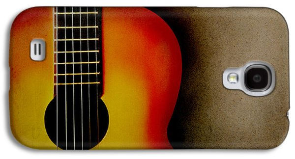 Abstracts Pyrography Galaxy S4 Cases - Guitar Galaxy S4 Case by Jelena Jovanovic