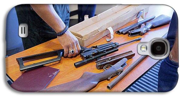 Gun Amnesty Galaxy S4 Case by Jim West