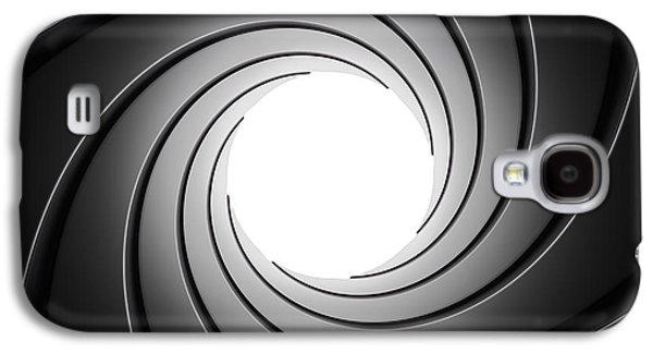 Gun Barrel From Inside Galaxy S4 Case by Johan Swanepoel