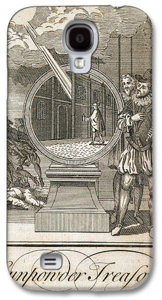 Gunpowder Treason Galaxy S4 Case by British Library