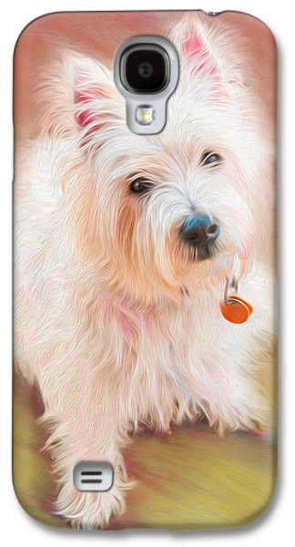 Westie Digital Galaxy S4 Cases - Gus No. 3 Galaxy S4 Case by Alan Sherlock