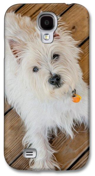 Westie Digital Galaxy S4 Cases - Gus No2 Galaxy S4 Case by Alan Sherlock