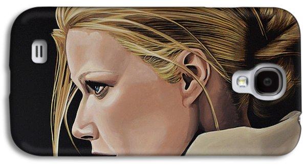 Slide Galaxy S4 Cases - Gwyneth Paltrow Galaxy S4 Case by Paul Meijering