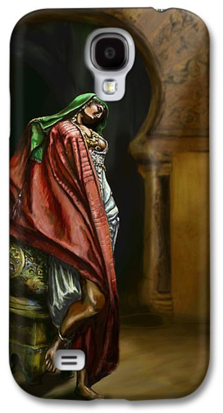 Gypsy Galaxy S4 Cases - Syrian Princess Galaxy S4 Case by Matt Kedzierski
