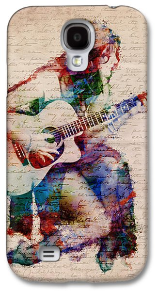 Textured Digital Art Galaxy S4 Cases - Gypsy Serenade Galaxy S4 Case by Nikki Smith