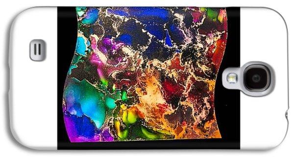 Dust Glass Galaxy S4 Cases - Gyspy Dance Galaxy S4 Case by Belle-Lyssa  Crawford
