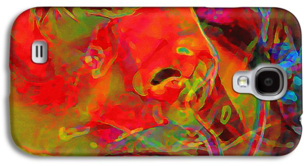 Modern Digital Digital Digital Galaxy S4 Cases - H3ad Sh0ts 5 Galaxy S4 Case by  Fli Art