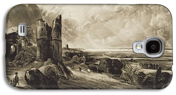 Ruin Galaxy S4 Cases - Hadleigh Castle, Engraved By David Lucas 1802-81 C.1832 Mezzotint With Etching Galaxy S4 Case by John Constable