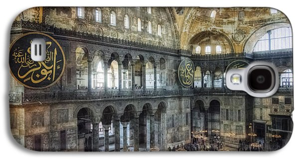 Religious Galaxy S4 Cases - Hagia Sophia Interior Galaxy S4 Case by Joan Carroll