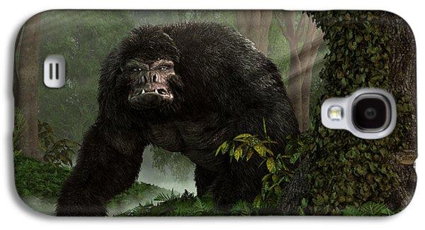Gorilla Digital Galaxy S4 Cases - Hairy Beast Galaxy S4 Case by Daniel Eskridge