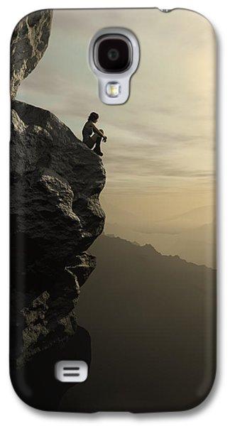 Climbing Galaxy S4 Cases - Halcyon Galaxy S4 Case by Cynthia Decker
