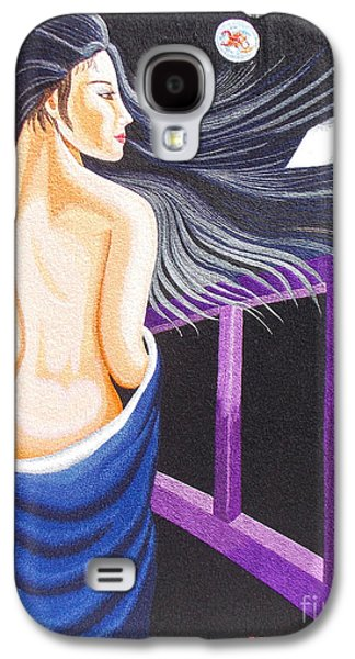 Kim Tapestries - Textiles Galaxy S4 Cases - Hale Popp hand embroidery Galaxy S4 Case by To-Tam Gerwe