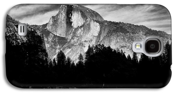 Cloudy Day Galaxy S4 Cases - Half Dome Galaxy S4 Case by Cat Connor