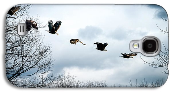 Biology Photographs Galaxy S4 Cases - Half second of flight Galaxy S4 Case by Bob Orsillo