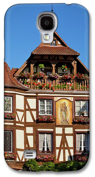 Half-timbered Building In Town Galaxy S4 Case by Brian Jannsen