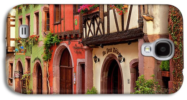 Half-timbered Buildings On Rue Du Galaxy S4 Case by Brian Jannsen