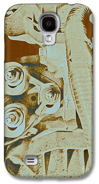 Component Photographs Galaxy S4 Cases - Halftone Fastening  JLB Galaxy S4 Case by Julie Boswell and CRLeyland