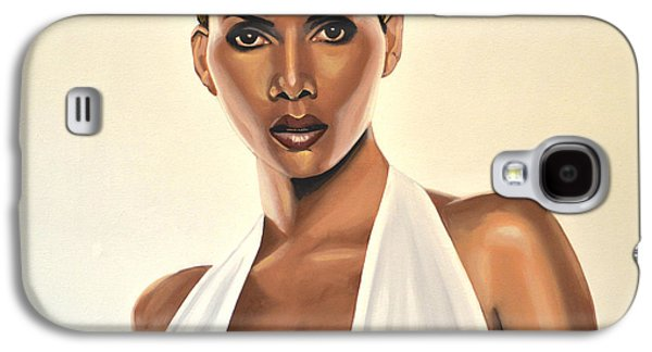 Monster Galaxy S4 Cases - Halle Berry Galaxy S4 Case by Paul Meijering