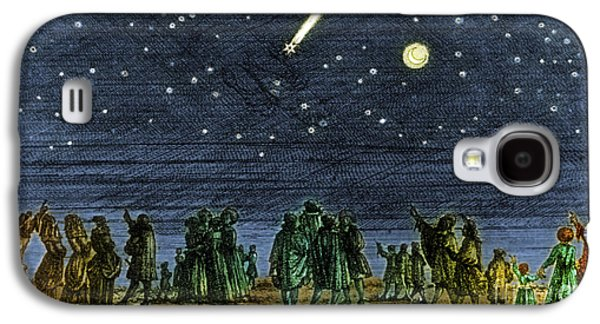 Stargazing Galaxy S4 Cases - Halleys Comet 1682 Galaxy S4 Case by Science Source
