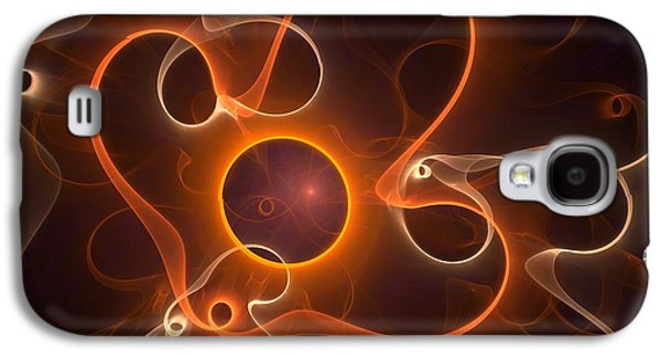 Spiritualism Galaxy S4 Cases - Halloween Ghost Galaxy S4 Case by Anastasiya Malakhova