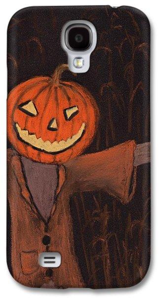 Decoration Galaxy S4 Cases - Halloween Scarecrow Galaxy S4 Case by Anastasiya Malakhova