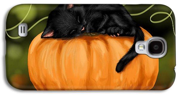 Halloween Digital Galaxy S4 Cases - Halloween Galaxy S4 Case by Veronica Minozzi