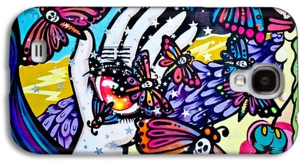 Slam Galaxy S4 Cases - Hallucinogenic Graffiti Art Galaxy S4 Case by Yurix Sardinelly
