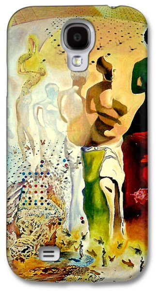 Nike Paintings Galaxy S4 Cases - Halucinogenic Toreador by Salvador Dali Galaxy S4 Case by Henryk Gorecki