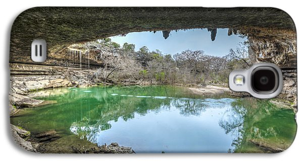 Sink Hole Galaxy S4 Cases - Hamilton Pool Galaxy S4 Case by David Morefield