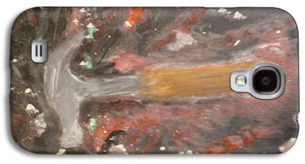 Hammer Paintings Galaxy S4 Cases - Hammer Out Galaxy S4 Case by Rob Spencer