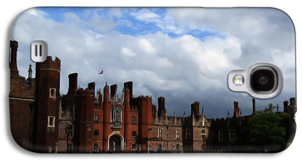 Castle Galaxy S4 Cases - Hampton Court Galaxy S4 Case by Jenny Armitage