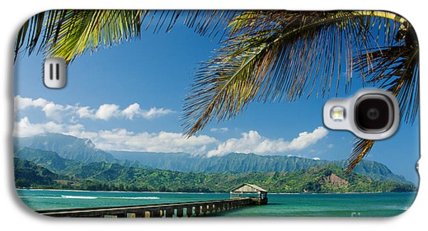 Printscapes - Galaxy S4 Cases - Hanalei Pier and beach Galaxy S4 Case by M Swiet Productions