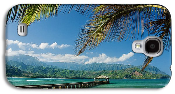 Hanalei Pier And Beach Galaxy S4 Case by M Swiet Productions