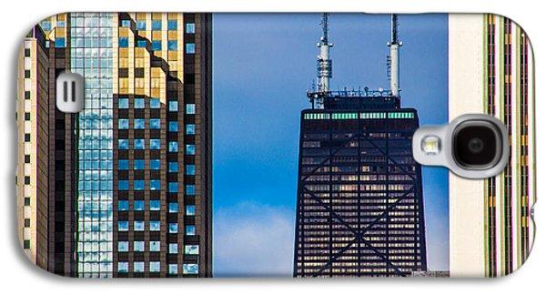 Buildin Galaxy S4 Cases - Hancock Building in Chicago  Galaxy S4 Case by John McGraw