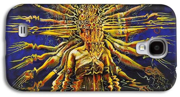 Hindu Goddess Galaxy S4 Cases - Hands of Compassion Galaxy S4 Case by Karina Llergo Salto
