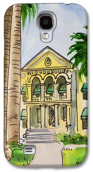 Hanford - California Sketchbook Project Galaxy S4 Case by Irina Sztukowski