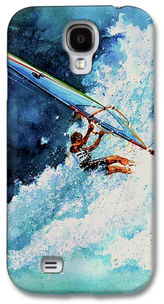 Lore Galaxy S4 Cases - Hang Ten Galaxy S4 Case by Hanne Lore Koehler