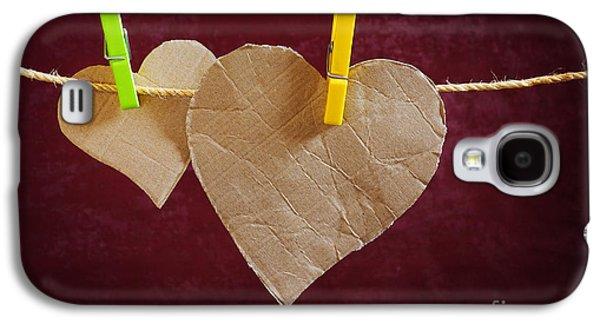 Cardboard Galaxy S4 Cases - Hanged Heart Galaxy S4 Case by Carlos Caetano